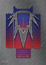 TR-QW-MA3 Q-World Starter Box Metallochrome Wave Pattern Wrap ( Type A3 )