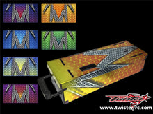 TR-MO-MA3 Mugen On Road Starter Box Metallochrome Wave Pattern Wrap ( Type A3 )