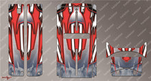 TR-QW-MA8 Q-World Starter Box Metallochrome Wave Pattern Radio Wrap ( Type A8 ) 4colors