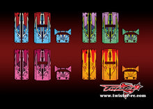 TR-QW-MA9 Q-World Starter Box Metallochrome Wave Pattern Radio Wrap ( Type A9 ) 4 colors