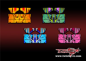 TR-S8W-MA9 Serpent SRX8 Wing Metallochrome Wave Pattern Radio Wrap ( Type A9 )  4 colors