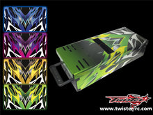 TR-TB-MA2 T-Work's Off Road Starter Box Metallochrome Wave Pattern Wrap( Type A2 ) 4colors