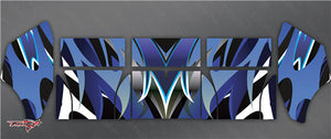 TR-TCW-MA2 Team C Wing Metallochrome Wave Pattern Wrap ( Type A2 )4 colors