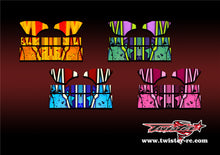 TR-TCW-MA9 Team C Wing  Metallochrome Wave Pattern Radio Wrap ( Type A9 ) 4 colors