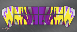TR-X8W-MA1  Xray XB8 Wing Metallochrome Wave Pattern Wrap ( Type A1 ) 6 colors