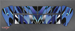 TR-X8W-MA2 Xray XB8 Wing Metallochrome Wave Pattern Wrap ( Type A2 )4 colors