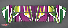 TR-X8W-MA4 Xray XB8 Wing Metallochrome Wave Pattern Wrap ( Type A4 ) 4color