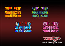 TR-X8W-MA9 Xray XB8 Wing Metallochrome Wave Pattern Radio Wrap ( Type A9 ) 4 colors