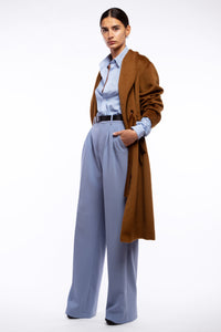 Rosè • Camel coat with belt