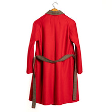 Load image into Gallery viewer, Ida pressed wool coat and belt • One piece