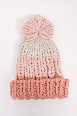 James Mae Snow Bunny Pom Beanie