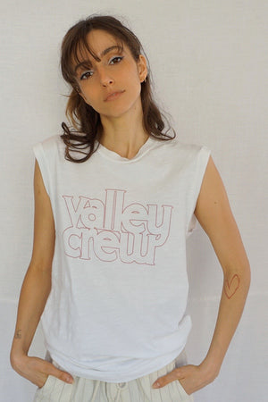 James Mae Valley Crew Moto Tee