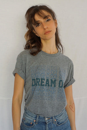 James Mae Dream On Heather Grey Unisex Tee