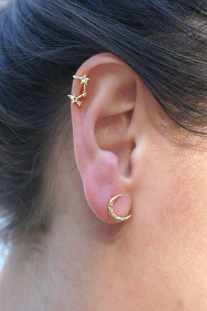 James Mae Gold Star Cuff Earring