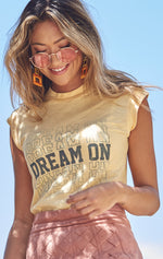 Dream On Moto Tee
