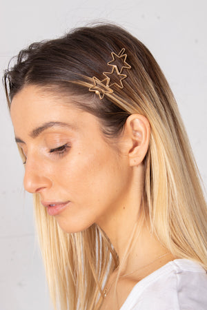 Cluster of Stars Hair Clip