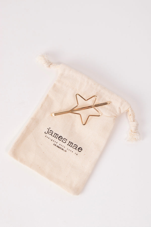 Simple Star Hair Clip