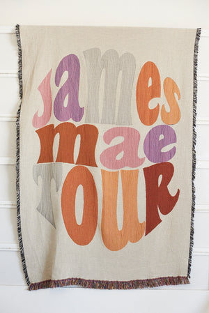 James Mae Tour Blanket