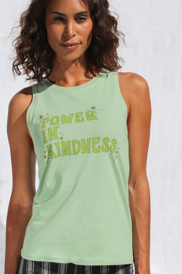 Power In Kindness Muscle Tank