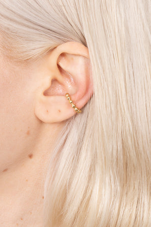 Golden Cuff Earring