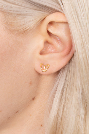James Mae Mariposa Butterfly Earrings