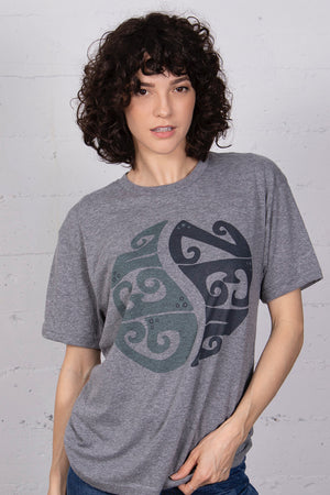 James Mae Gen Zen Heather Grey Unisex Tee