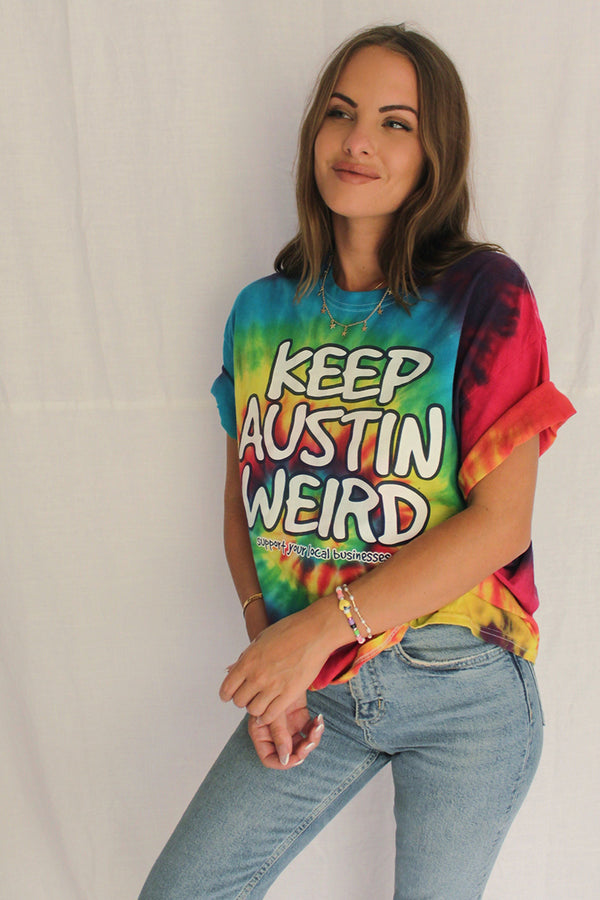 James Mae Keep Austin Weird Vintage Tee