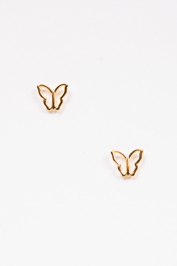 Mariposa Golden Earrings