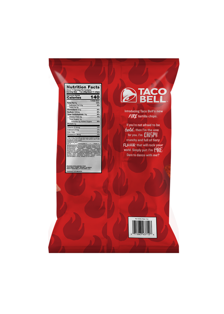Fire Tortilla Chips 11oz - (3 Pack)
