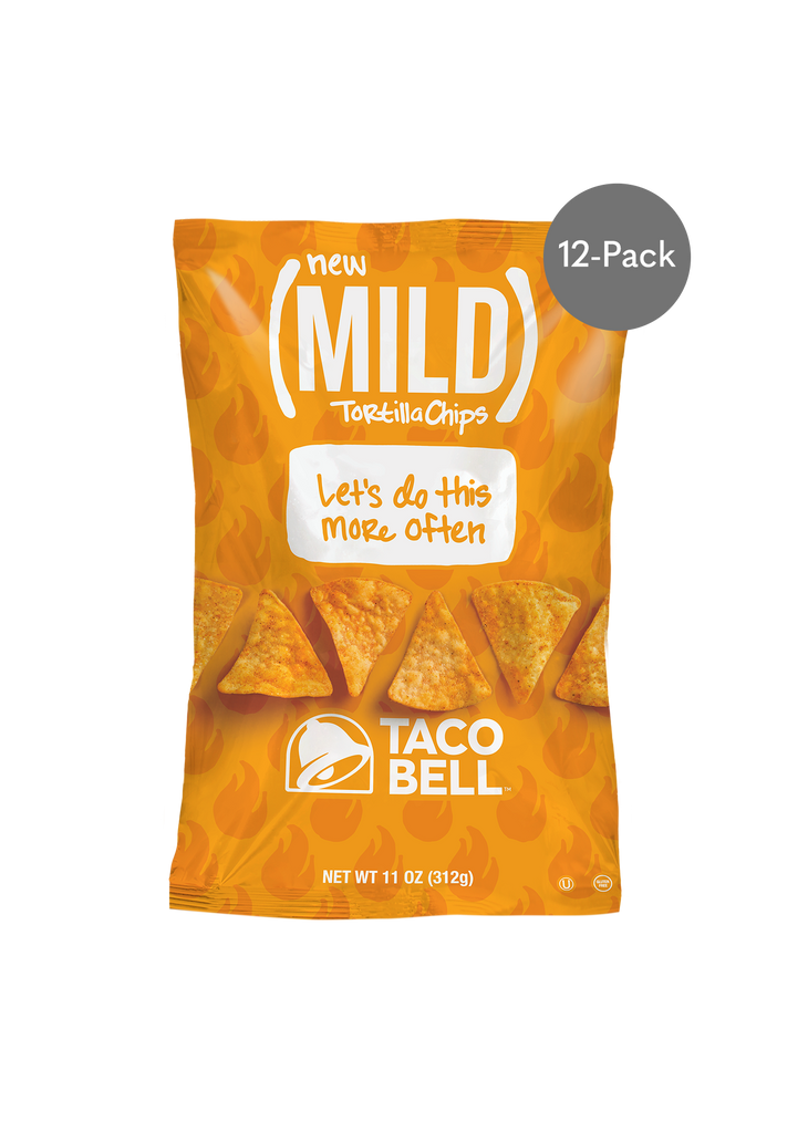 Mild Tortilla Chips 11oz - (12 Pack)