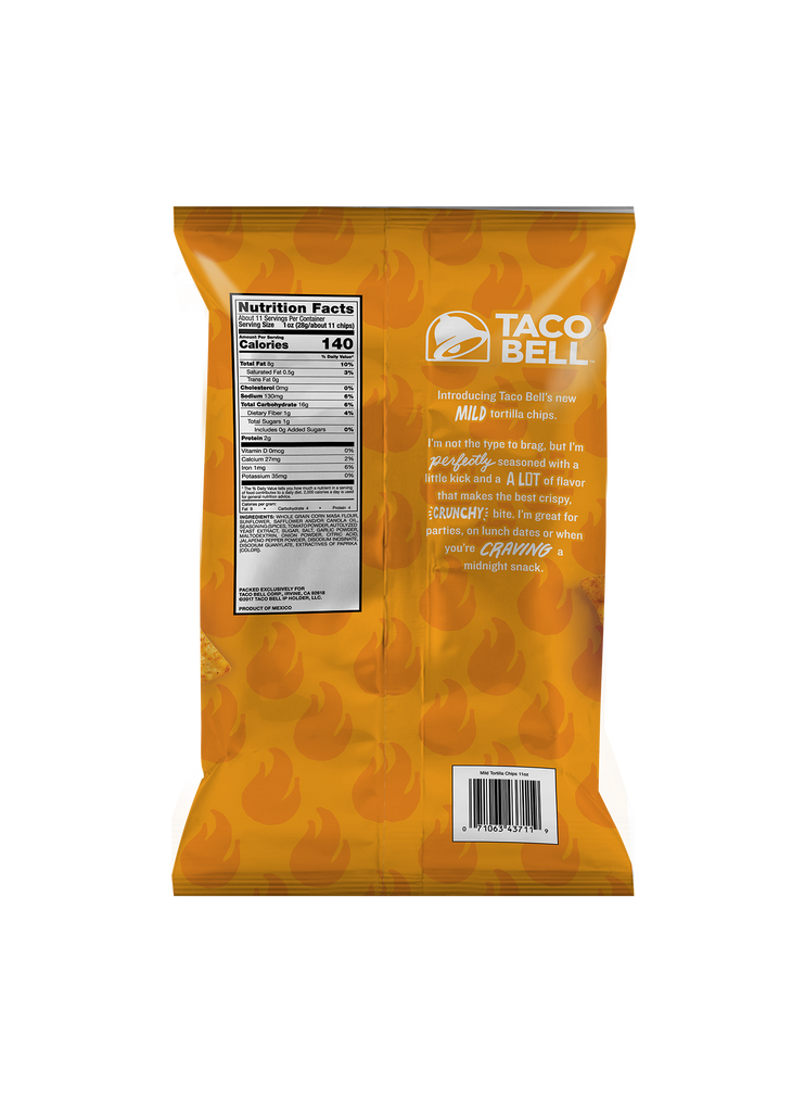 Mild Tortilla Chips 11oz - (3 Pack)