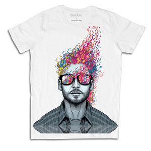 "T-Shirt Uomo ""Head Bomb"""