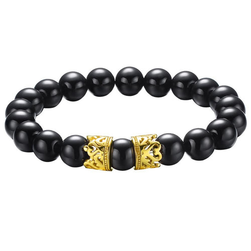 KING CROWN Bead Bracelet