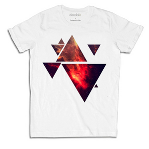 "T-Shirt Uomo ""Space Triangle"""