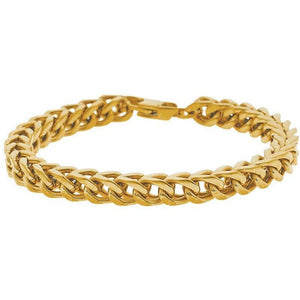 Franco Style Chain Bracelet | Gold:Chrome:Black:Rose Gold | Ships from USA