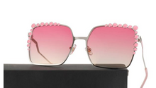 Oversized Square Sunglasses with Retro Frame Design | Extremely Popular Item