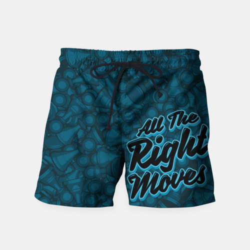 All The Right Moves Beach Shorts