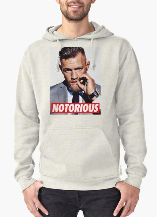 Notorious Conor McGregor Hoodie Grey
