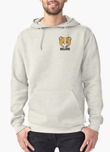 "Moschino ""Bear"" Hoodie Grey - Comfy, Simple, Happy"