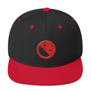"Snapback Hat ""Sidewayz Smiley Emoji"""