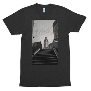 "Short sleeve ""stairway"" soft t-shirt"