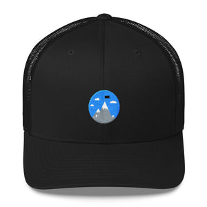 """Mountain Cap"" Trucker Snapback Hat"