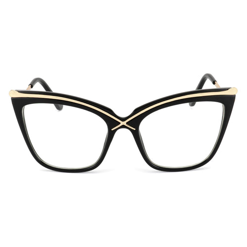 Cat Eye Metal Frame Sun Glasses UV400