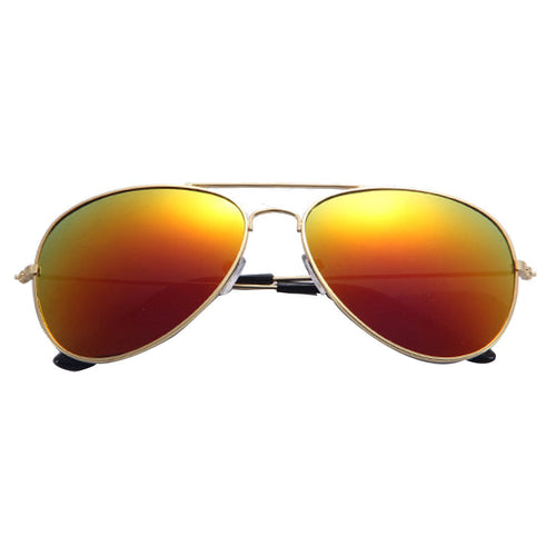 Classic Metal Aviation Style Sunglasses | Unisex | UV400 Lenses