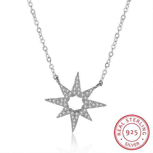 S925 Silver  Unintentional Flower Necklace