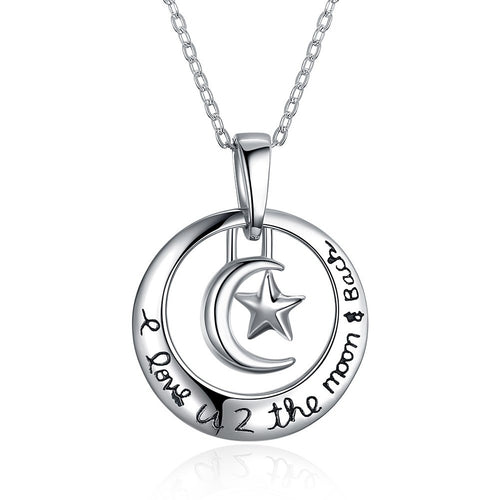 S925 Silver Ring Necklace