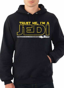 STAR WARS JEDI BLACK Printed HOODIE - Comfy, Simple, Happy