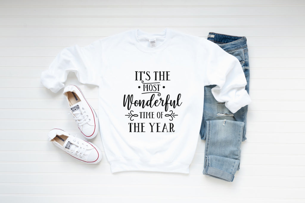 Its The Most Wonderful Time Of Year Sweatshirt