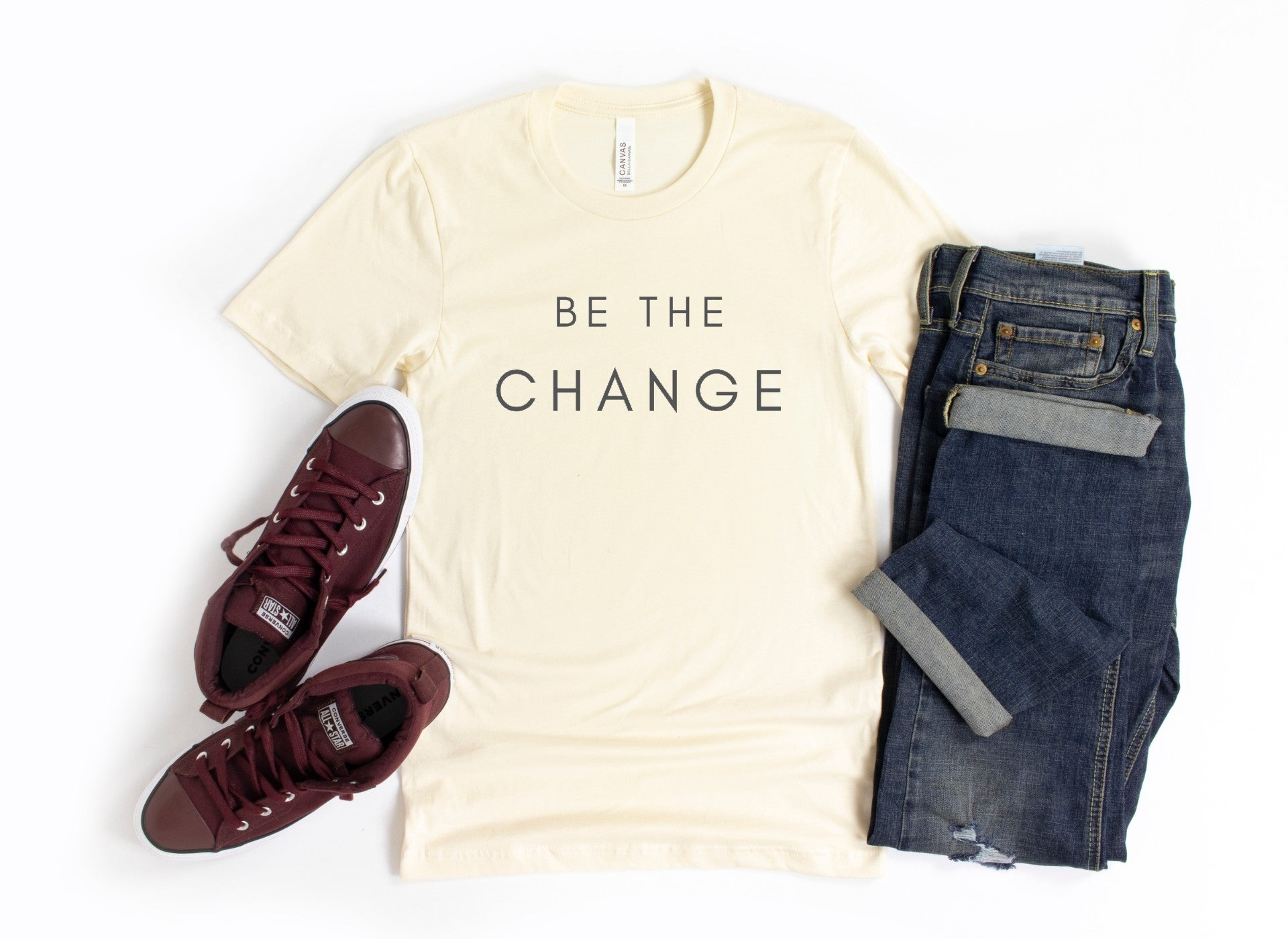 Be The Change Men's Tee Shirt