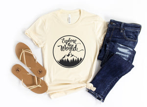 Explore The World Tee Shirt